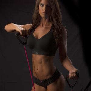 Redefine U Fitness Black Top and Bottom Stretch Band