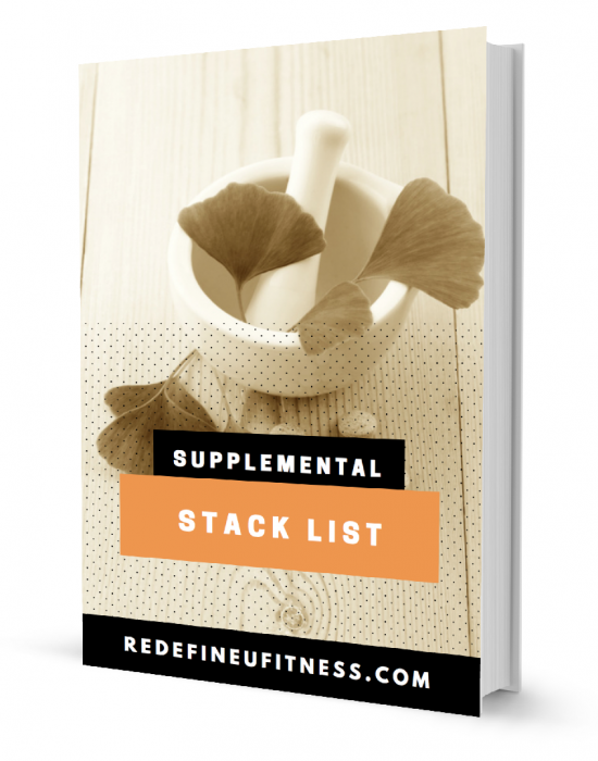Grow Gorgeous Glutes Supplemental Stack List